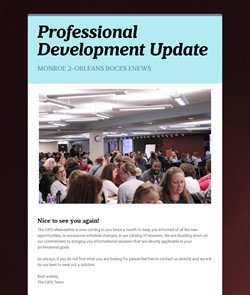 CIPD eNewsletter