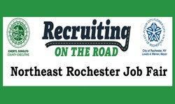 Recruiting on the Road logo.