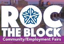Roc the Block Fair Logo