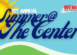 Summer @ The Center graphic