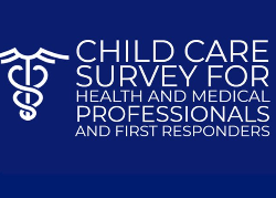 Child Care Survey for Health and Medical Professionals and First Responders graphic