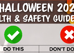 Cropping of the poster graphic: Halloween Do This/Don't Do This
