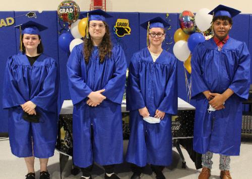 Group shot of Westside Academy graduates