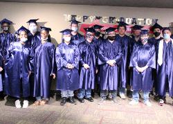 Group shot of graduates