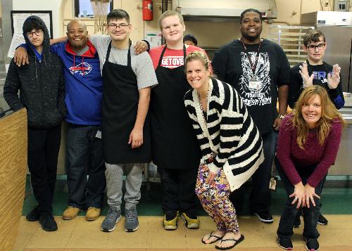 The crew of hardworking volunteers from Westview