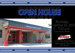 Open House Invitation graphic