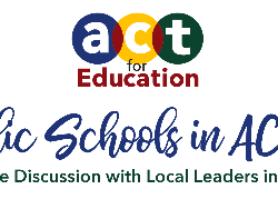 Public Schools in ACTion logo