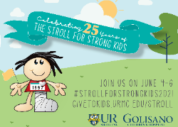 Stroll for Strong Kids poster