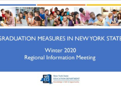Graduation Measures in NYS Winter 2020 Regional Information Meeting
