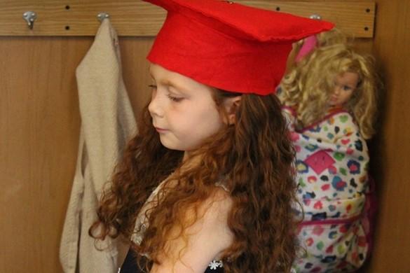 Preschool graduate.