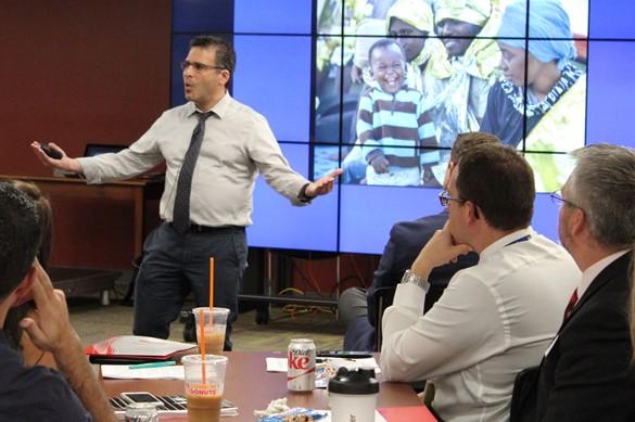 National speaker presenting at CIPD.