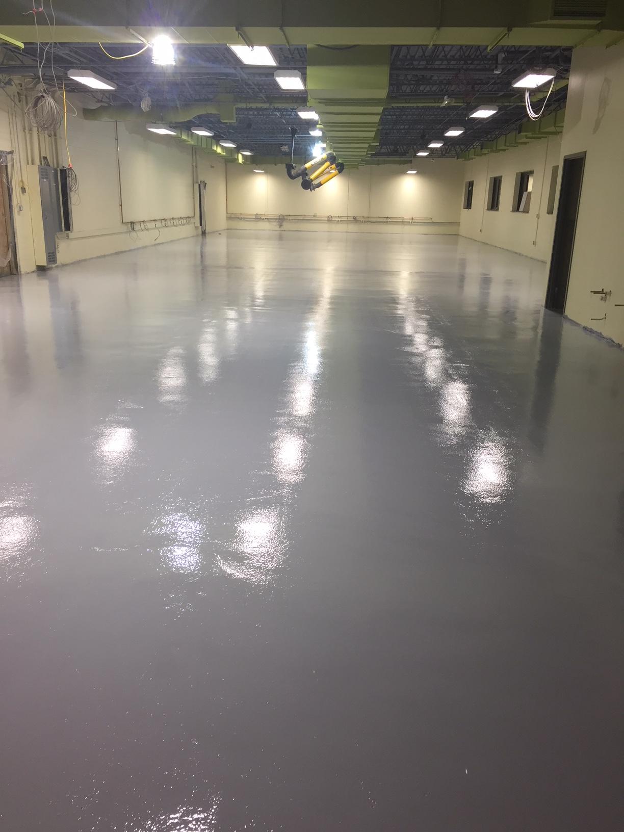 New flooring in WEMOCO classroom