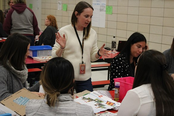 Makerspace training with elementary school teachers
