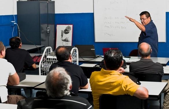Adult Learner Classroom