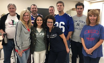 Westside Academy staff during Spirit Week - Sports Day
