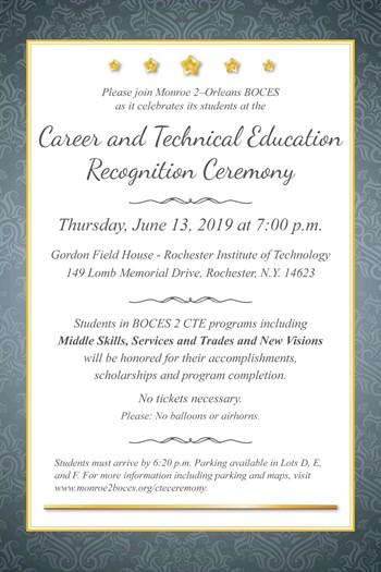 Recognition Invitation 2019