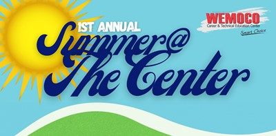 Summer at the Center graphic